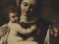 Giovanni Francesco Barbieri dettto Guercino, Madonnacon Bambino