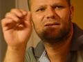 Il fotografo di pace Haitham Al Khatib ospite dell'associazione Restiamoumaniconvik. Credits Valentina Zanaga
