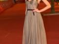 Ana Ularu posa sul red carpet del Festival di Roma 2014. Credits Octavian Micleusanu