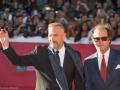Kevin Costner saluta il pubblico del Festival di Roma 2014. Credits Octavian Micleusanu