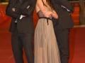 Simon Merrells, Ana Ularu, Lorenzo Sportiello sul red carpet del Festival di Roma 2014. Credits Octavian Micleusanu