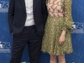 Venezia 73. Il regista Damien Chezelle e l'attrice Emma Stone al photocall di La La Land. Credits Octavian Micleusanu