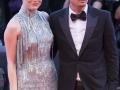 Venezia 73. Il regista Damien Chezelle e l'attrice Emma Stone sul Red Carpet di La La Land. Credits Octavian Micleusanu