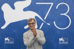 73esima Mostra Internazionale del Cinema di Venezia. Il regista Wim Wenders al photocall di Les Beaux Jours d'Aranjuez - credits Octavian Micleusanu