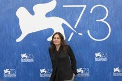 73esima Mostra Internazionale del Cinema di Venezia. L'attrice Sophie Semin al photocall di Les Beaux Jours d'Aranjuez - credits Octavian Micleusanu