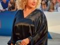 Iaia Forte  sul red carpet della 71. Mostra d'Arte Cinematografica di Venezia. Credits Valentina Zanaga