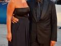 Il regista Mario Martone e la moglie Ippolita Di Majo  sul red carpet della 71. Mostra d'Arte Cinematografica di Venezia. Credits Valentina Zanaga