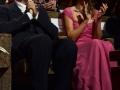 """Massimo Popolizio e Isabella Ragonese in Sala Grande alla prima del film """"Il Giovane Favoloso""""  alla 71. Mostra d'Arte Cinematografica di Venezia. Credits Valentina Zanaga"""