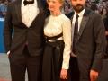 """Adam Driver, Alba Rohrwacher, Saverio Costanzo sul red carpet del film """"Hungry Hearts"""", alla 71. Mostra Internazionale d'Arte Cinematografica di Venezia. Credits Valentina Zanaga"""