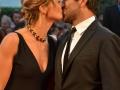 L'attore Pierfrancesco Favino con la moglie Anna Ferzetti alla 71. Mostra Internazionale d'Arte Cinematografica di Venezia. Credits Valentina Zanaga