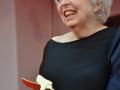 3714 Thelma Schoonmaker esibisce il Leone d'oro alla carriera sul red carpet, 71. Mostra d'Arte Cinematografica, Venezia 2014. Credits Valentina Zanaga