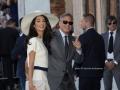 George Clooney e Amal Alamuddin sposi a Venezia, Palazzo Loredan. Credits Octavian Micleusanu
