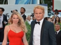 Venezia72  Jason Clarke con la moglie sul red carpet del flm Everest - foto Valentina Zanaga