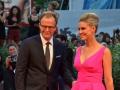 Il regista Thomas McCarthy e la moglie, l'attrice Amy Ryan, sul red carpet del film Spotlight. Venezia72 foto Valentina Zanaga
