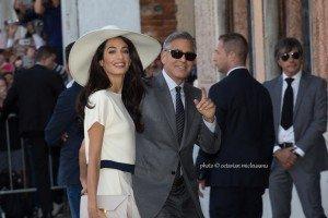 George Clooney e Amal Alamuddin sposi a Venezia, credits Octavian Micleusanu 2014